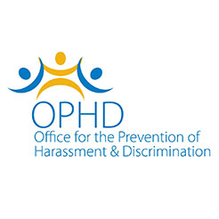 OPHD Blue and yellow graphic logo